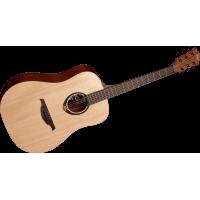 LAG T70D Dreadnought akustisk stålstrenger gitar