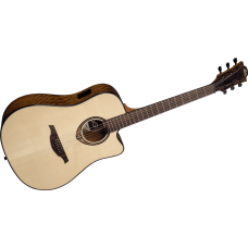 LAG T318DCE akustisk stålstrenger gitar
