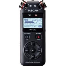 TASCAM DR-05X 24-bit/96kHz, portabel opptaker/lydkort med effekter