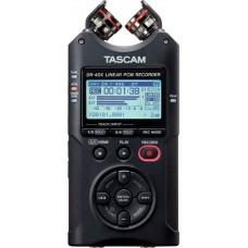 TASCAM DR-40X 24-bit/96kHz, portabel opptaker med justerbare kondensatormikrofoner