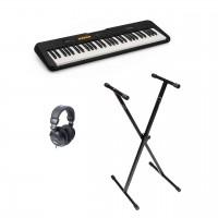 Casio CT-S100 Keyboard med head sett og stativ
