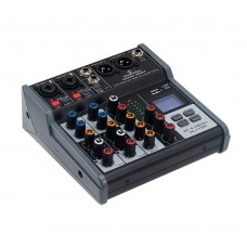 SOUNDSATION MIOMIX 202M 4CH AUDIO MIXER WITH BLUETOOTH