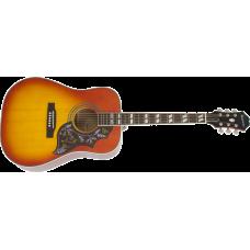Epiphone Hummingbird Pro Faded Cherry Sunburst akustisk stålstrenger gitar
