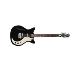 Danelectro Vintage 12-string Guitar Gloss Black