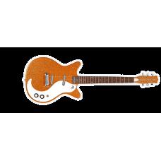 Danelectro 59 M NOS Plus Guitar Orange Metal Flake