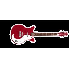 Danelectro 59 M NOS Plus Guitar Red Metal Flake