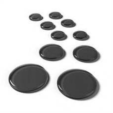SlapKlatz - PRO 10 Gel Pads - Black