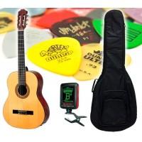 Cataluna SGN-C81 NL 4/4 Klassisk Gitarpakke