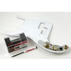 DiMarzio FB2100WA2BK. Pre-wired P Bass Replacement Pickguard.