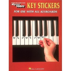 E-Z Play Today: Key Stickers For Piano