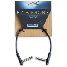 RockBoard Flat Patch Cable Black 20 cm